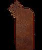 Памятник на кладбище из металла 50*103см*8мм, памятник Христианство 11