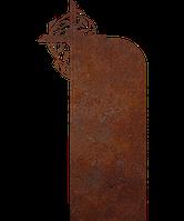 Памятник на кладбище из металла 50*103см*8мм, памятник Христианство 11, фото 1