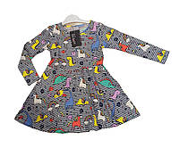 Трикотажне плаття для дівчаток. Зріст 116-128