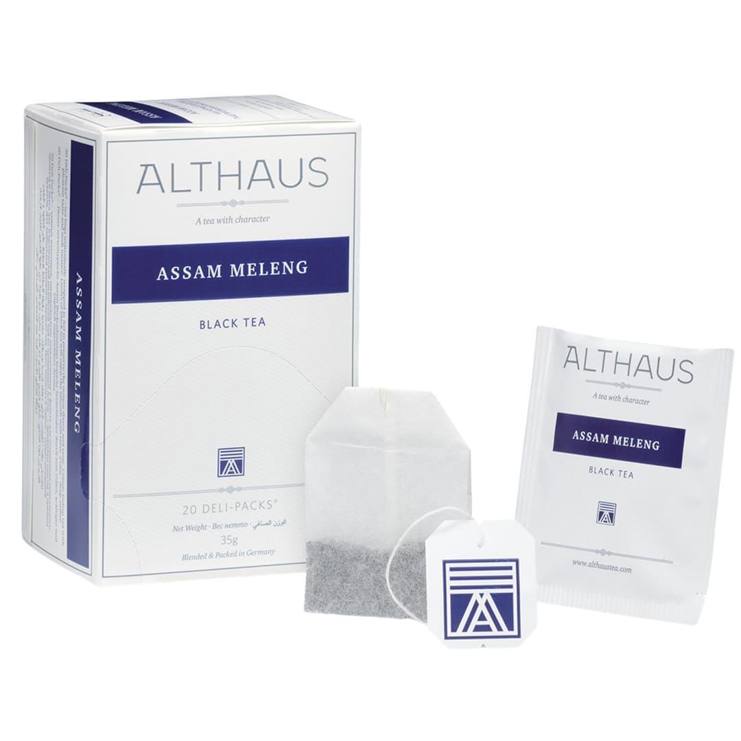 Чай Althaus Deli Packs Assam Meleng 1,75g x 20шт.