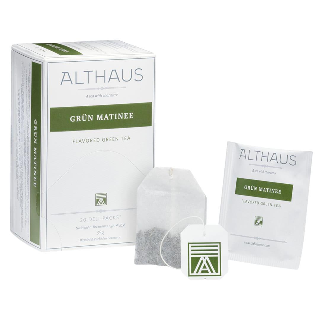 Чай Althaus Deli Packs Green Matinee 1,75g x 20шт.