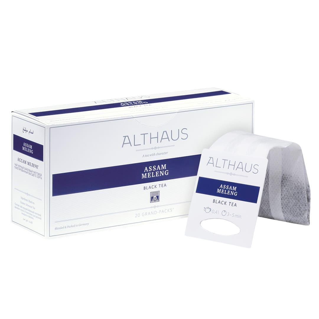Чай гранпак Althaus Grand Packs Assam Meleng 4g x 20шт.