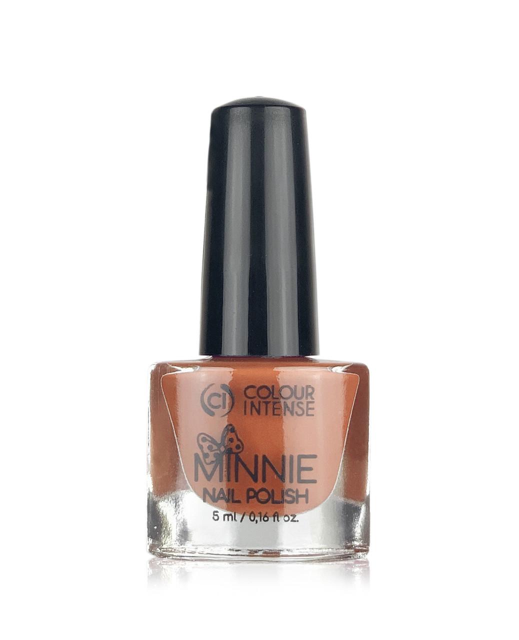 Лак для нігтів MINNIE 145 enamel brown pink 5мл Colour Intense