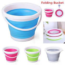 Відро туристичне складное на 10 літрів Collapsible Bucket