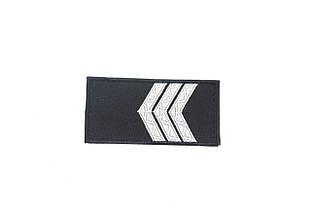 Погон Сержант поліції (1шт) на липучці