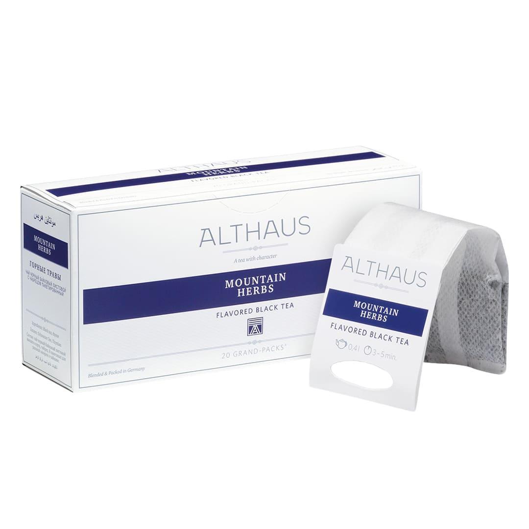 Чай гранпак Althaus Grand Packs Mountain Herbs 4g x 20шт.
