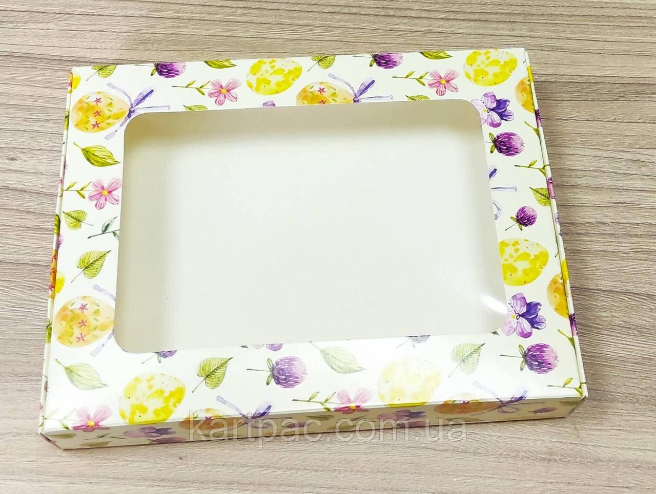 Картонная упаковка для пасхальных пряников 200*150*35