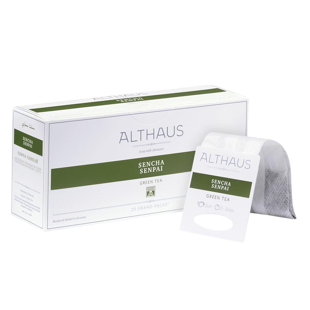 Чай гранпак Althaus Grand Packs Sencha Senpai 4g x 20шт.