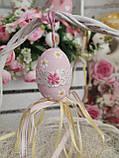 """Пасхальные яйца """"Ромашки"""", Н-6-7см, 45/35 (цена за 1 яйцо плюс 10 грн), для корзины, дома, фото 8"""