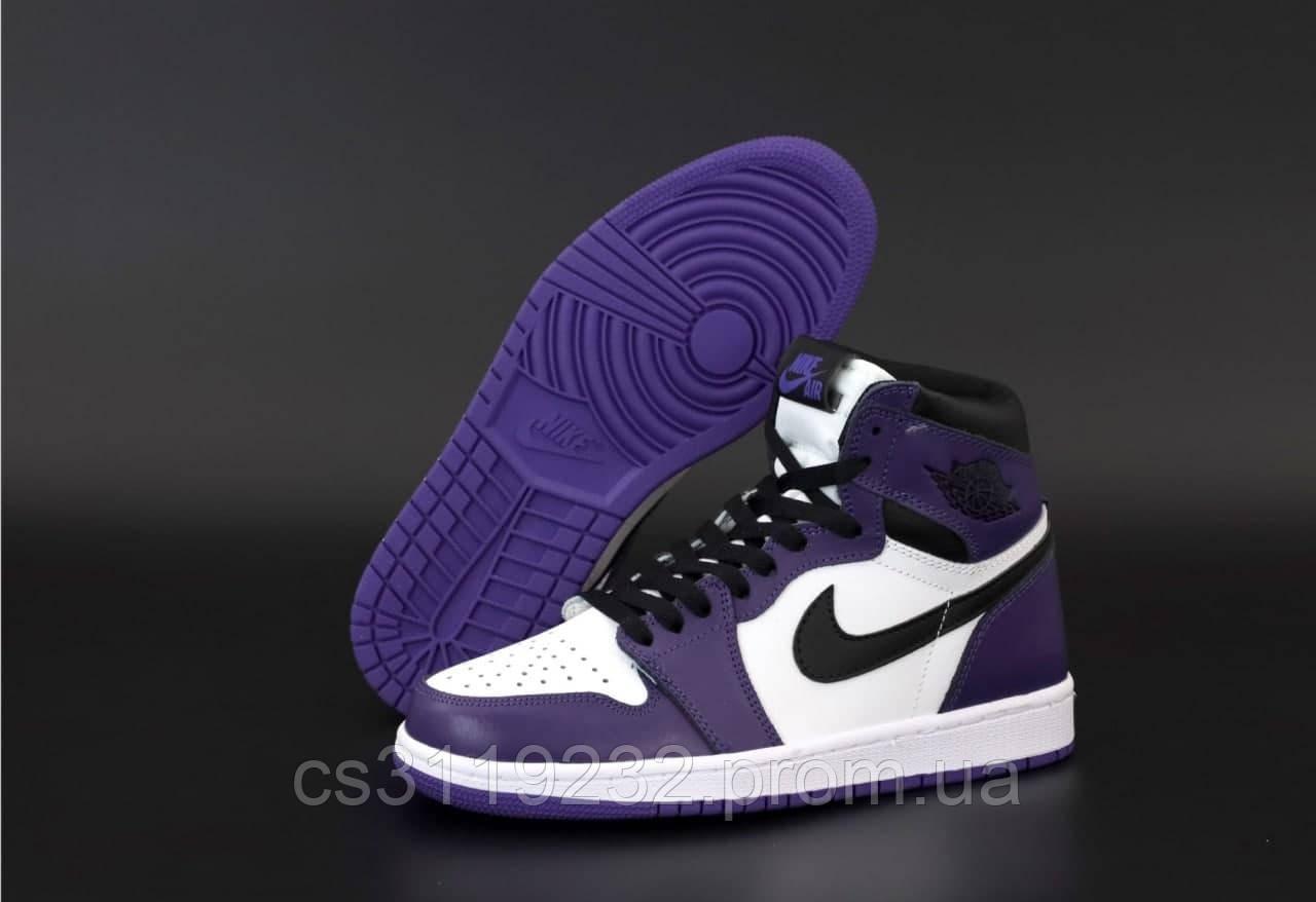 Мужские кроссовки 1 Retro All Star (фиолетовый)