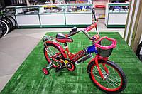 """Детский велосипед Rueda 18"""" красный"""