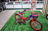 """Детский велосипед Rueda 18"""" красный, фото 1"""