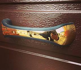 Установленные ворота Alutech Prestige, Ral 8017, S-gofr