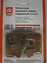Механизм дверного замка наружный левый (шоколадка) ГАЗЕЛЬ <ДК>