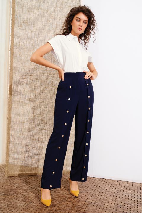 Жіночі прямі брюки Noche Mio SNOOK 4.378
