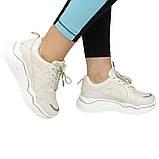 Кроссовки женские бежевые комфортные Artin р.36-41, фото 5