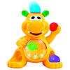 Развивающая игрушка - ГИППОПОТАМ-ЖОНГЛЁР Kiddieland (звук) 049890