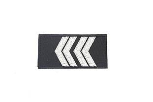 Погони Старший сержант поліції (1шт),липучка 10*5см 9171