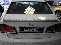 Лип спойлер Civic 4D