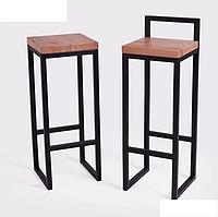 Барный стул в стиле Лофт 75х35х35см, БС01