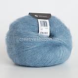 Пряжа Drops Kid Silk (цвет 08 light jeans blue), фото 2