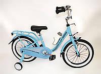 """Детский велосипед Casper 16"""" голубой"""