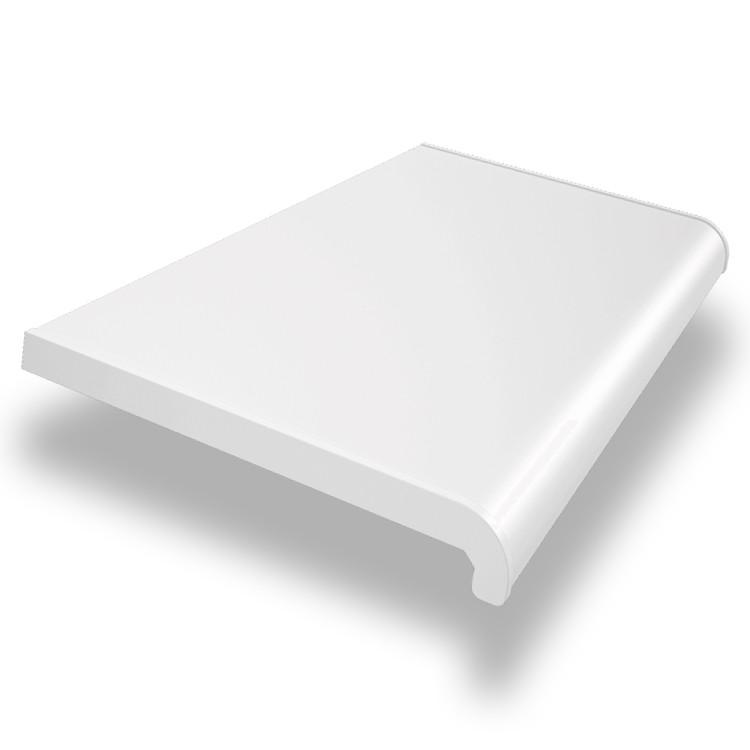 Подоконник WDS (ВДС) 300мм х 1600мм Белый (ОТРЕЗОК)