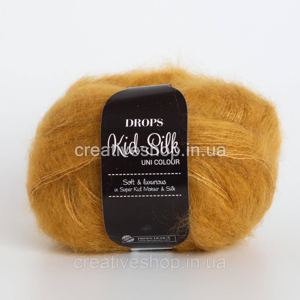 Пряжа Drops Kid Silk (колір 30 curry)