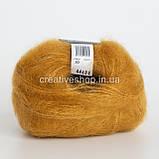 Пряжа Drops Kid Silk (колір 30 curry), фото 2