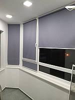 Ролеты тканевые на балкон - Рулонные шторы на лоджию балкона