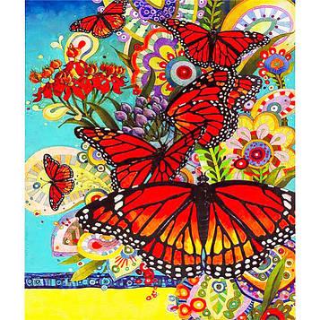 Картина по номерам 40х50 см DIY Миграция бабочек (FX 30342)
