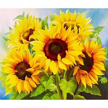 Картина за номерами 40х50 см DIY Букет соняшників (FX 30424)