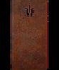 Надгробие из металла Христианство 20 Сталь Сorten 6 мм