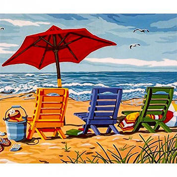 Картина за номерами 40х50 см DIY Відпустку (FX 30608)