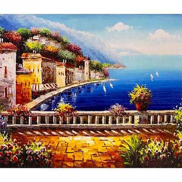 Картина по номерам 40х50 см DIY Живописный залив (FX 30362)