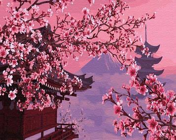 Картина по номерам 40х50 см Brushme Сакура в Японии (GX 4748)
