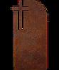 Надгробок з металу Християнство 21