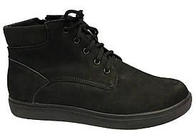 Ботинки 64BLACKNUBUK Черный