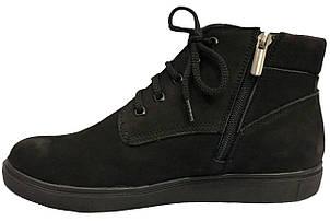 Ботинки 64BLACKNUBUK Черный, фото 2