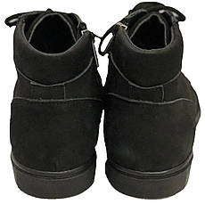 Ботинки 64BLACKNUBUK Черный, фото 3