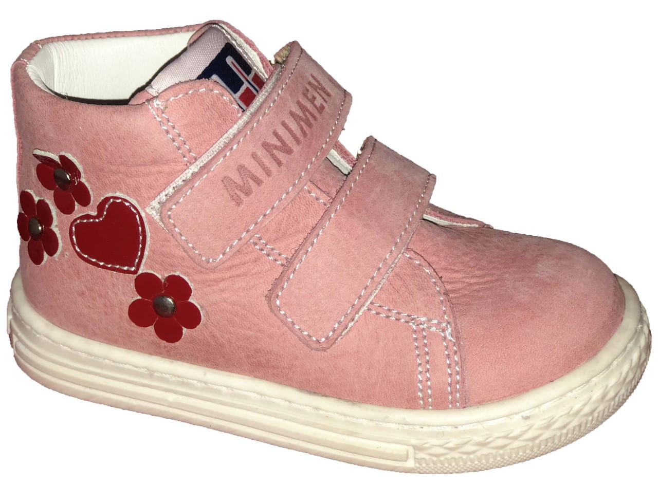 Ботинки Minimen 67ROSE р. 21 Розовые