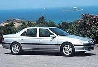 На передние двери. Дефлекторы окон, ветровики \ Peugeot 605 4d 1990+ \ Пежо 605