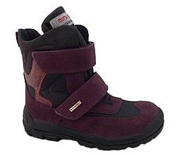 Детские ортопедические ботинки на шерсти Minimen