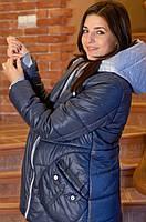 Зимняя куртка-трансформер для беременных и после