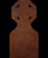 Памятник на кладбище из металла 50*103см*8мм, памятник Христианство 24, фото 1