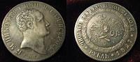 Рубль 1827 г  СПБ НГ пробный Николай I №071 копия, фото 1