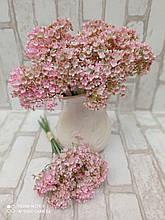 Цветы в букете из пластика для дома 6 веточек h-30 см 55 грн