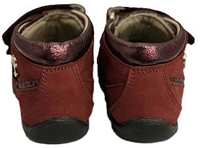 Ботинки Perlina 95BORDO Бордовые, фото 2