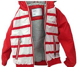 Детская Куртка-Ветровка мальчику 79RED Красный