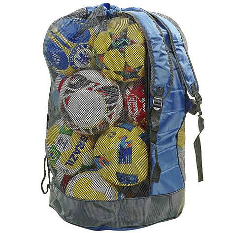 Сумка-рюкзак на 20 мячей (85x50x45см) С-4894, фото 2